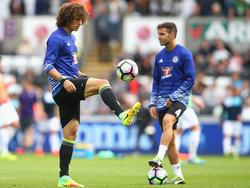 David Luiz wird gegen Liverpool in der Startelf stehen