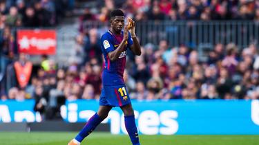 Ousmane Dembélé will sich bei Barcelona im zweiten Jahr durchsetzen