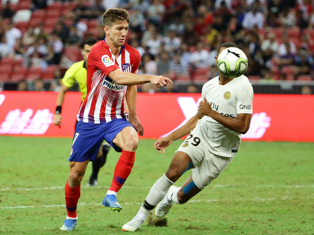 Vietto con la camiseta del Atlético. (Foto: Getty)
