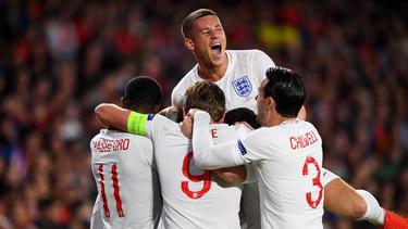 Zur Halbzeit führte England schon mit 3:0