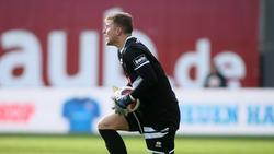 Fortuna-Keeper Nikolai Rehnen musste ganze sieben Mal hinter sich greifen