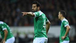 Zum fünften Mal bei Werder Bremen: Claudio Pizarro