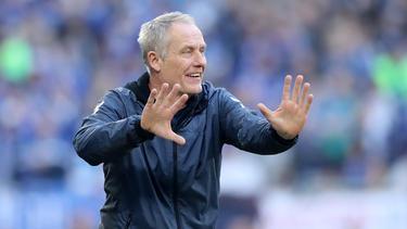 Christian Streich trifft mit dem SC Freiburg auf den FC Augsburg