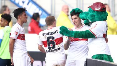 Steven Zuber spielt auf Leihbasis beim VfB Stuttgart