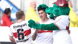 Steven Zuber erzielte einen Treffer für den VfB Stuttgart