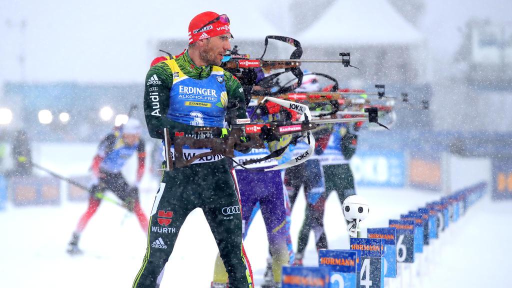 Arnd Peiffer lief am Holmenkollen auf den zweiten Rang