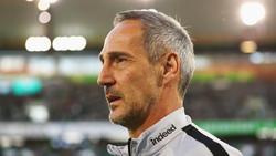 Adi Hütter sieht Bayer Leverkusen gegen Eintracht Frankfurt unter Zugzwang
