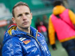 Jochen Fallmann hat beim SKN-Trainerrennen die Pole Position. Wen nimmt er in seinem Windschatten mit?