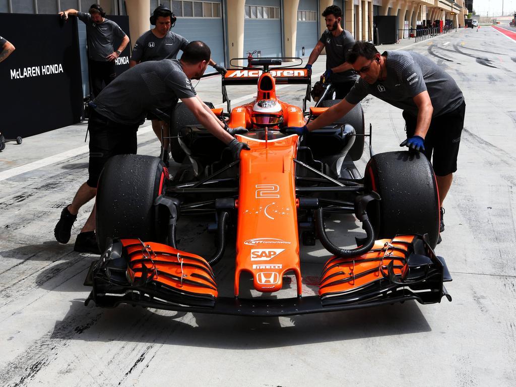 Beim Bahrain-Test lief der Honda-Antrieb am zweiten Tag ohne große Probleme