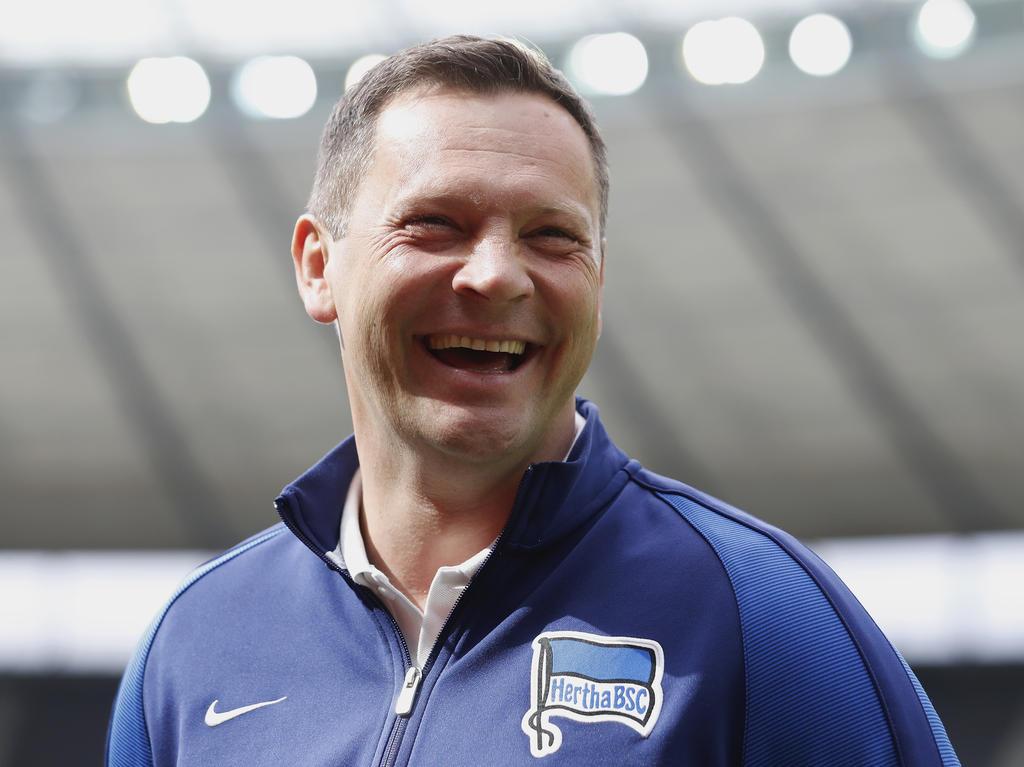 Pál Dárdai geht optimistisch in das erste Saisonspiel