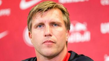 Hat eine andere Meinung als HSV-Coach Dieter Hecking: RB-Leipzig-Sportdirektor Markus Krösche