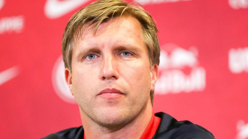 Markus Krösche hat bei RB Leipzig seine Arbeit aufgenommen