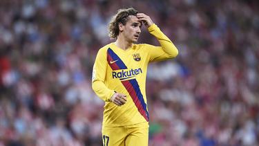 Antoine Griezmann konnte beim Barca-Auftakt nicht überzeugen