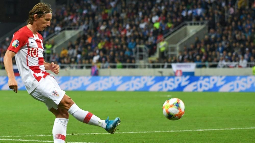 Luka Modric fällt vorerst verletzt aus