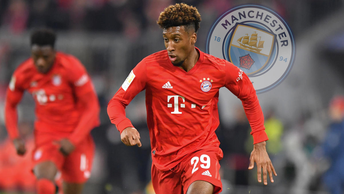 Verlässt Kingsley Coman den FC Bayern Richtung Manchester?