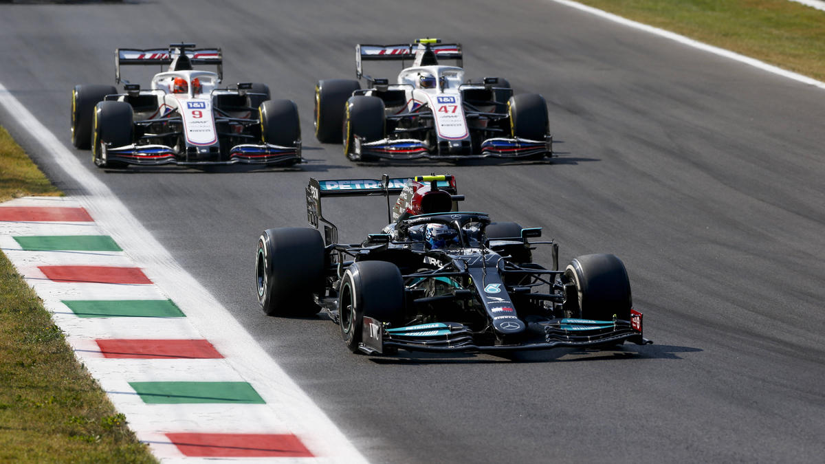 Valtteri Bottas zeigte in Monza eine starke Aufholjagd