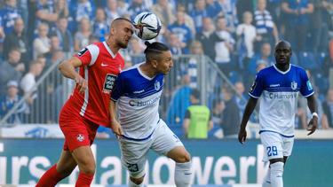 Der 1. FC Kaiserslautern verliert gegen den FC Magdeburg