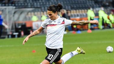 Dzsenifer Marozsán hat mit dem DFB-Team einiges vor