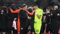 Florian Kastenmeier erlebte im Tor von Fortuna Düsseldorf kein Debüt nach Maß