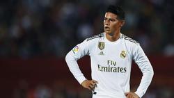 Stand seit Oktober in La Liga nicht mehr auf dem Feld: James Rodriguez