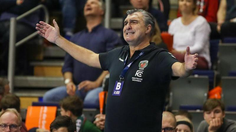 Der Berliner Handball-Trainer Michael Roth ist wieder gesund