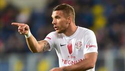 Lukas Podolski war für Antalyaspor im Einsatz