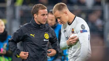 Wohin zieht es BVB-Star Mario Götze (l.)?