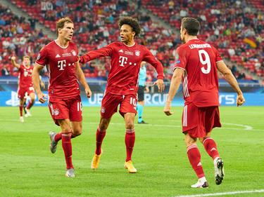 Die Bayern peilen nach dem UEFA Supercup-Gewinn den nächsten Sieg an