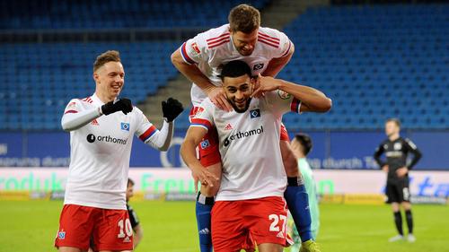 Der HSV fegte über den VfL Osnabrück hinweg