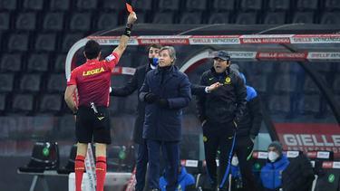 Antonio Conte wurde für zwei Spiele gesperrt