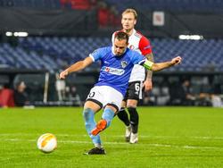 Liendl gegen Feyenoord