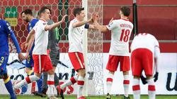 Lewandowski traf für Polen gleich doppelt