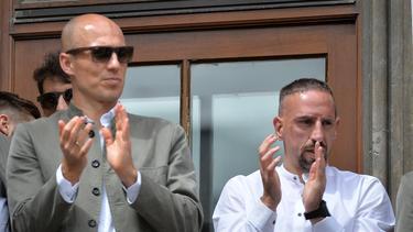 Arjen Robben und Franck Ribéry zählen zu den erfolgreichsten Spielern des FC Bayern