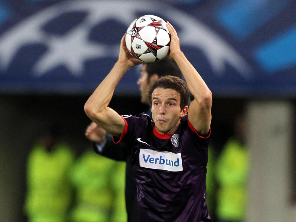 Fabian Koch sammelte bei der Austria Champions-League-Erfahrung