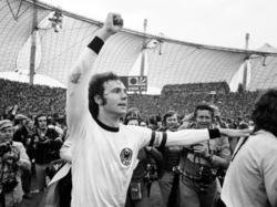 Franz Beckenbauer se convirtió en Campeón del Mundo en 1974. (Foto: Getty)