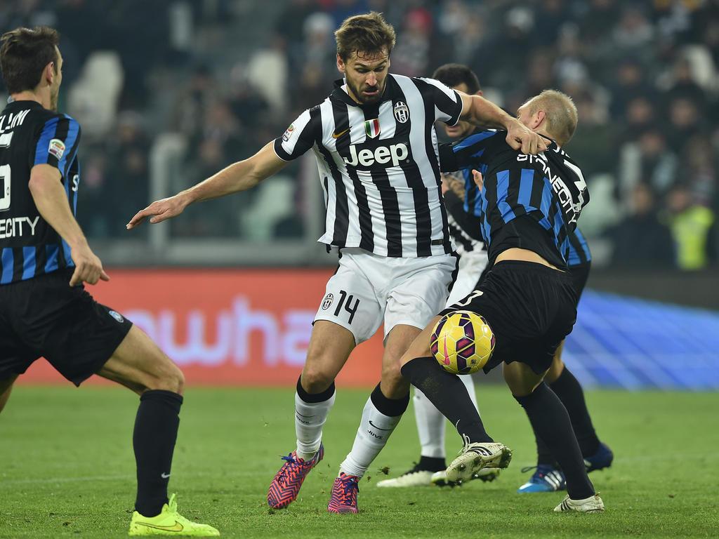 El español Fernando Llorente inició la remontada para la Juventus. (Foto: Getty)