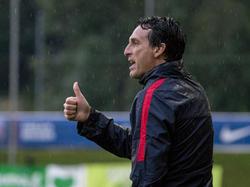 Unai Emery, entrenador del PSG. (Foto: Getty)