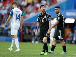 Messi volvió a dejarse otra clara ocasión desde los once metros. (Foto: Getty)
