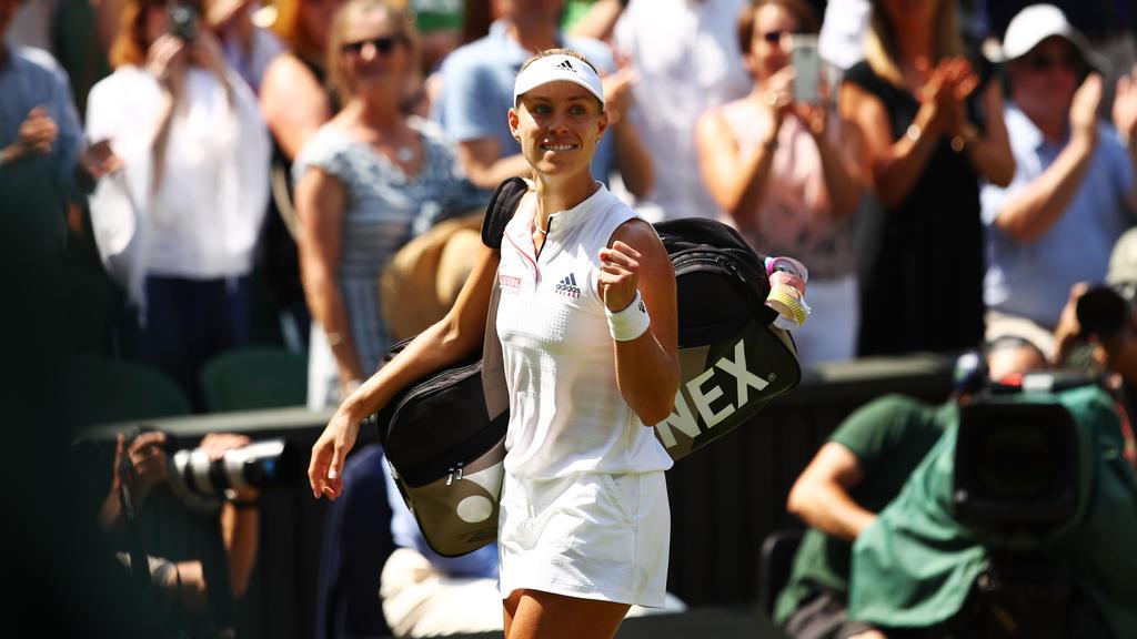 Angelique Kerber freut sich über den Einzug ins Finale