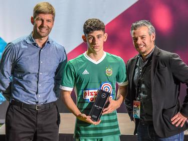 Yusuf Demir wurde beim U19-Cup in Sindelfingen als bester Spieler ausgezeichnet. © imago/P. Hartenfelser