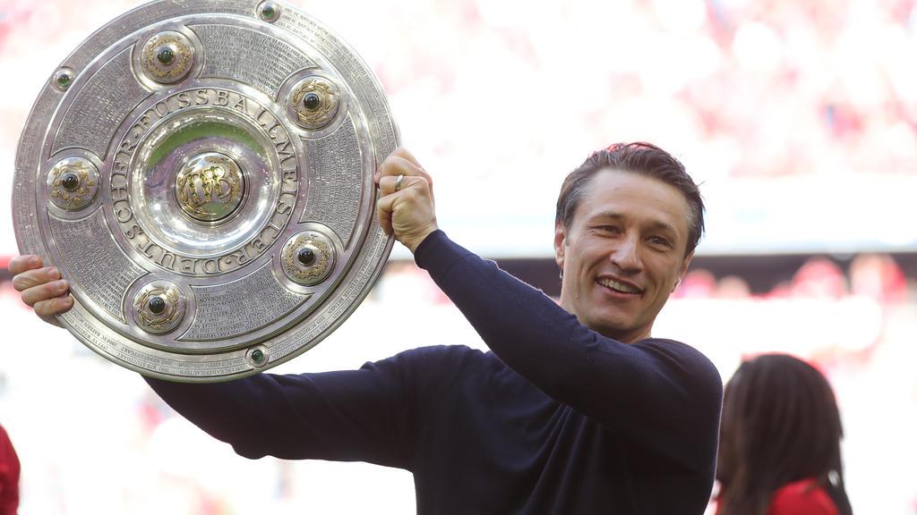 Niko Kovac feierte am Samstag seine erste Deutsche Meisterschaft als Trainer