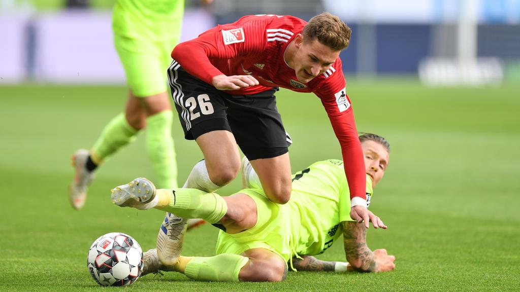 Phil Neumann läuft künftig für Holstein Kiel auf