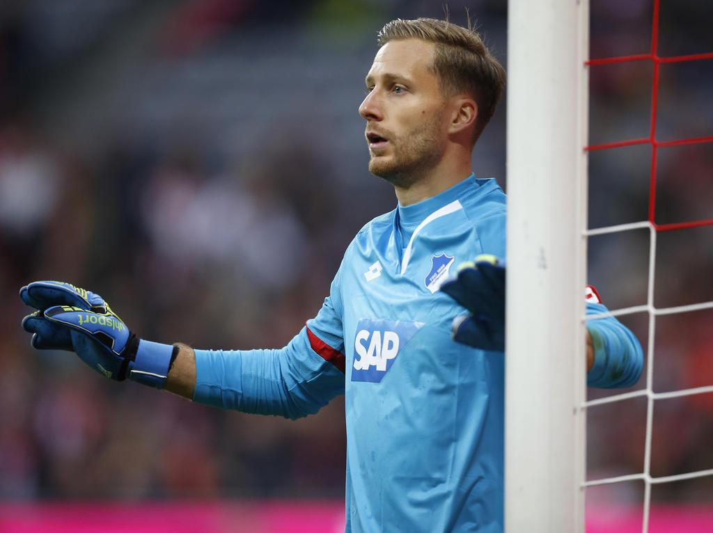 Oliver Baumann kehrt am Samstag mit der TSG Hoffenheim zu seinem Ex-Klub zurück