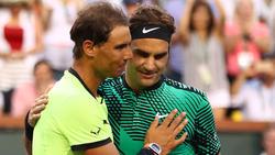 Spielen Roger Federer und Rafael Nadal bald vor einer Rekordkulisse im Real-Stadion?