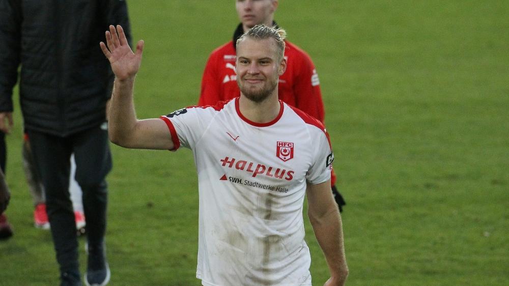 Hallescher FC erobert die Tabellenführung in der 3. Liga