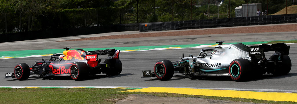 Lewis Hamilton war in Sao Paulo wehrlos gegen Max Verstappen