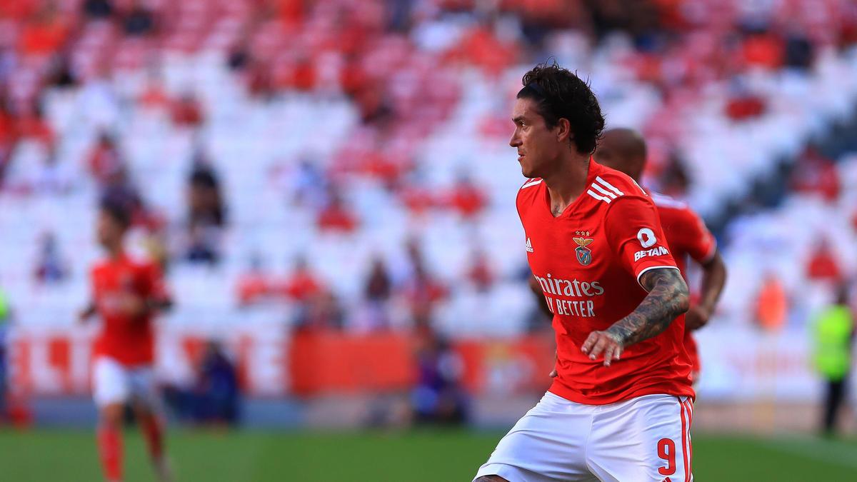 Wird beim FC Bayern und bei Bayer Leverkusen gehandelt: Darwin Núnez von SL Benfica