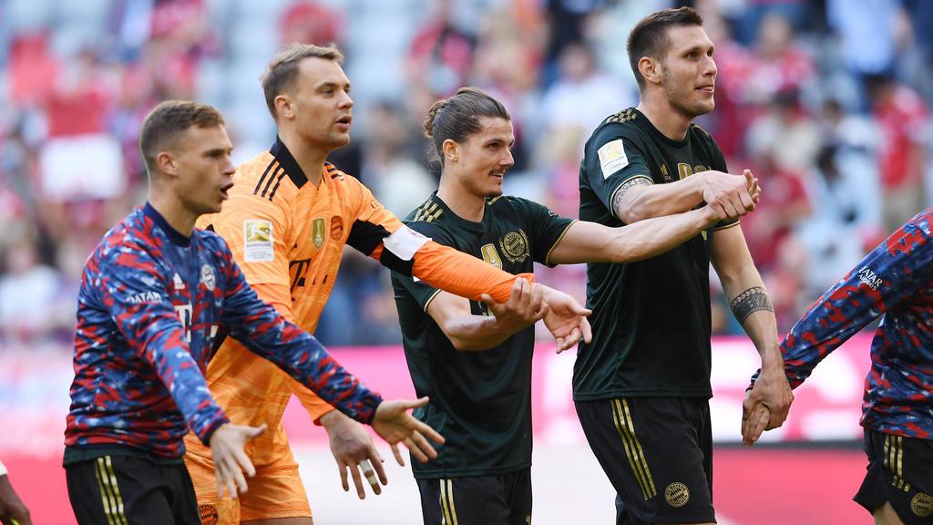 Beim FC Bayern herrscht beste Stimmung