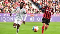 Alphonso Davies wurde beim Erfolg des FC Bayern ausgewechselt