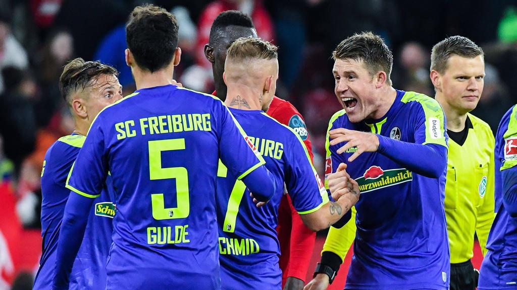 Der SC Freiburg siegt beim FSV Mainz 05